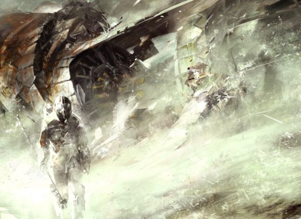 Richard Anderson flaptraps conceptual art illustrations games fantasy science fiction Space crash