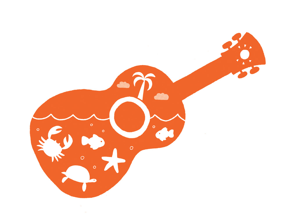 Matthew Hams Illustration Ukulele