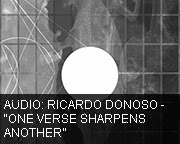 Ricardo Donoso - One Verse Sharpens Another