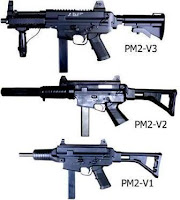 Pindad PM2 Submachine Gun
