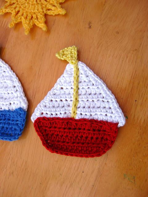 Bunny Mummy Sail Away Crochet Progress