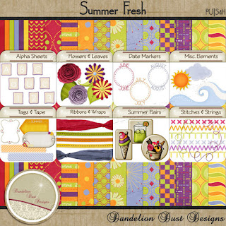 Preview of Summer Freash by Dandelion Dust Designs