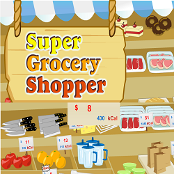 Super Grocery Shopper (Math Game)