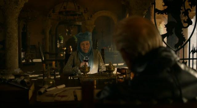 conversación entre Lady Olenna y Tywin Lannister - Juego de Tronos en los siete reinos