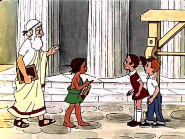 занятие по физике для детей - сила Архимеда