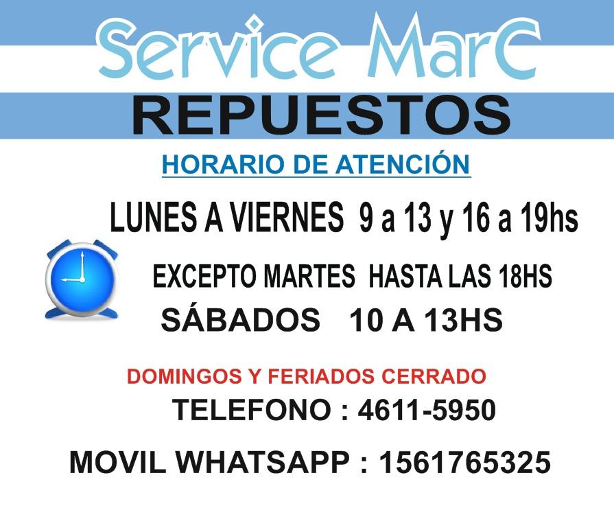 SERVICE MARC REPUESTOS