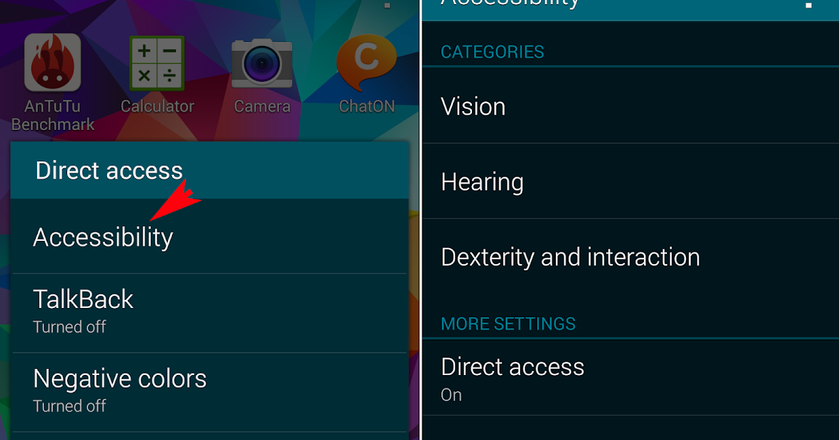 how to open private mode on samsung galaxy s5