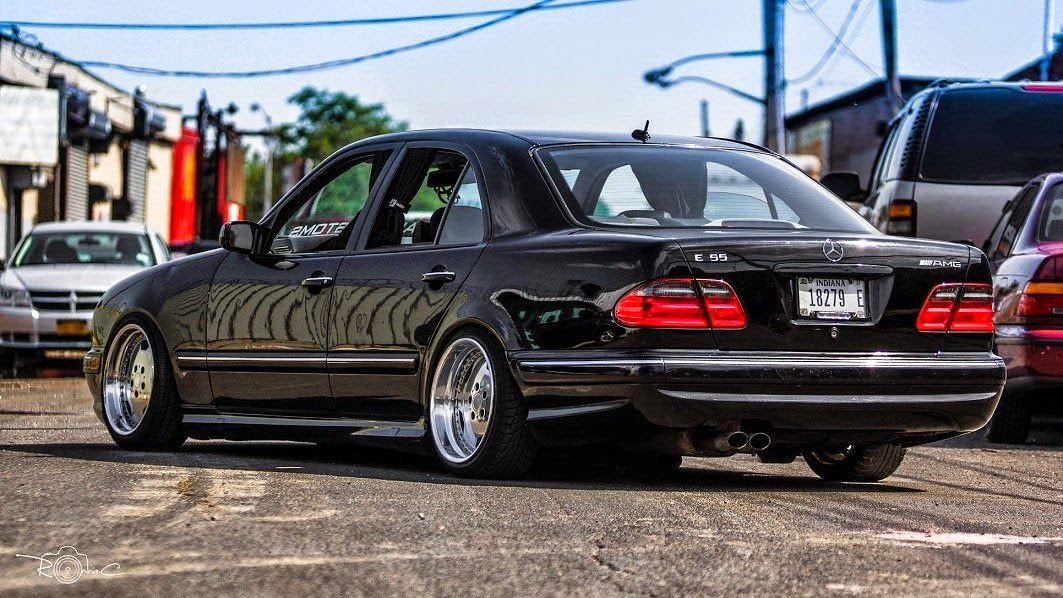 Mercedes w210 e55 vip style stance 1 063 598 pixels for Mercedes benz vip