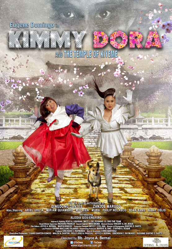 Kimmy Dora and the Temple of Kiyeme Official Movie Poster
