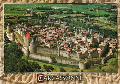 Cetatea medievala Carcassonne