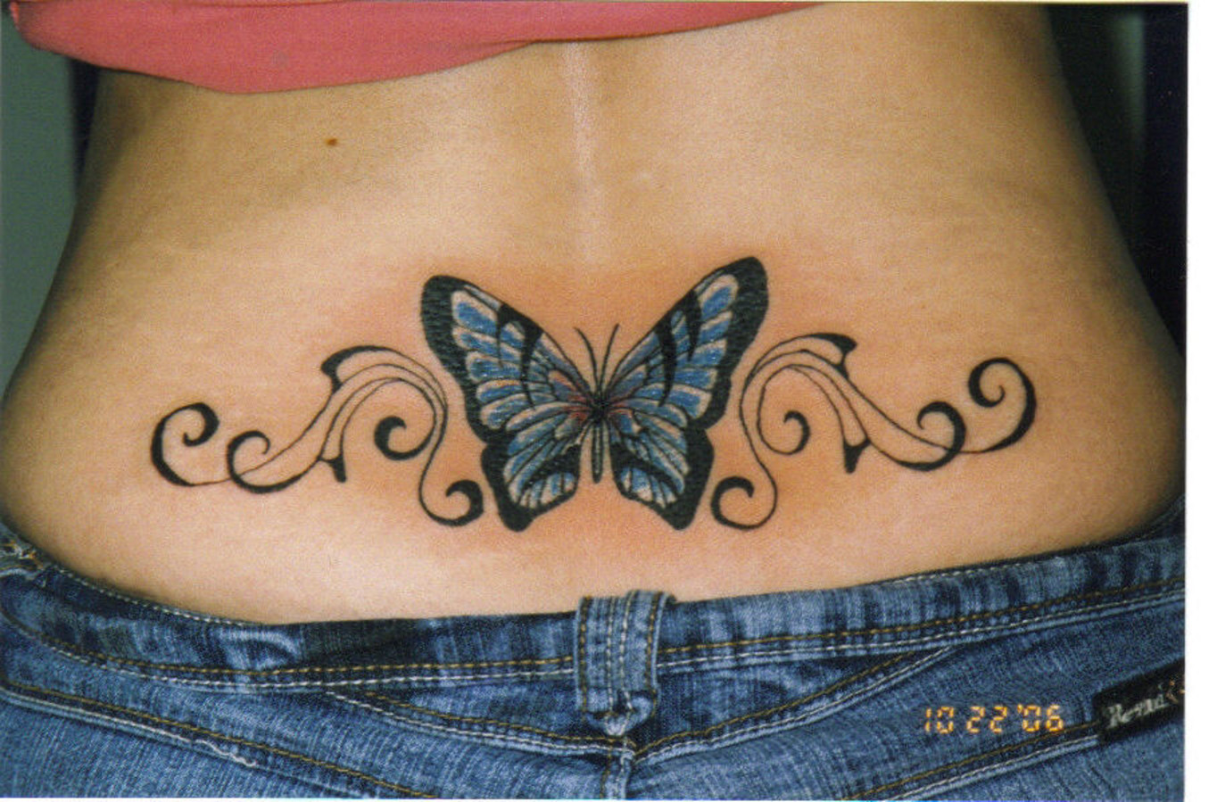 body art world tattoos lower back tattoos sure are hot. Black Bedroom Furniture Sets. Home Design Ideas