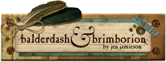 balderdash and brimborion - by jen jamieson