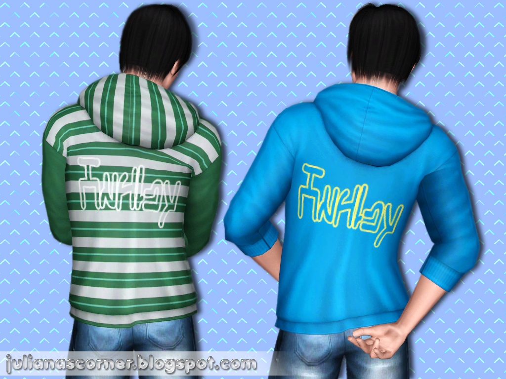 Empire Sims 3: ML Hoodie - THE SIMS 3 - BY JULIANA