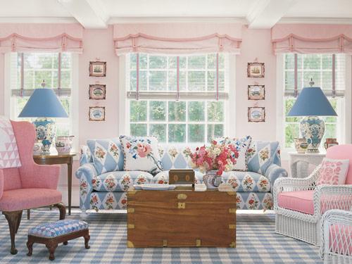 Coastal living room furniture ideas with pastel colors look beautiful