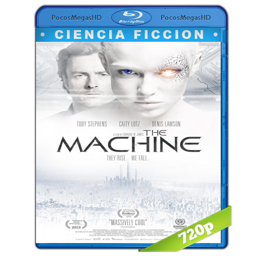 The machine(2013) BrRip 720p Inglés AC3+subs