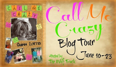 Book Blitz: Call Me Crazy by Quinn Loftis