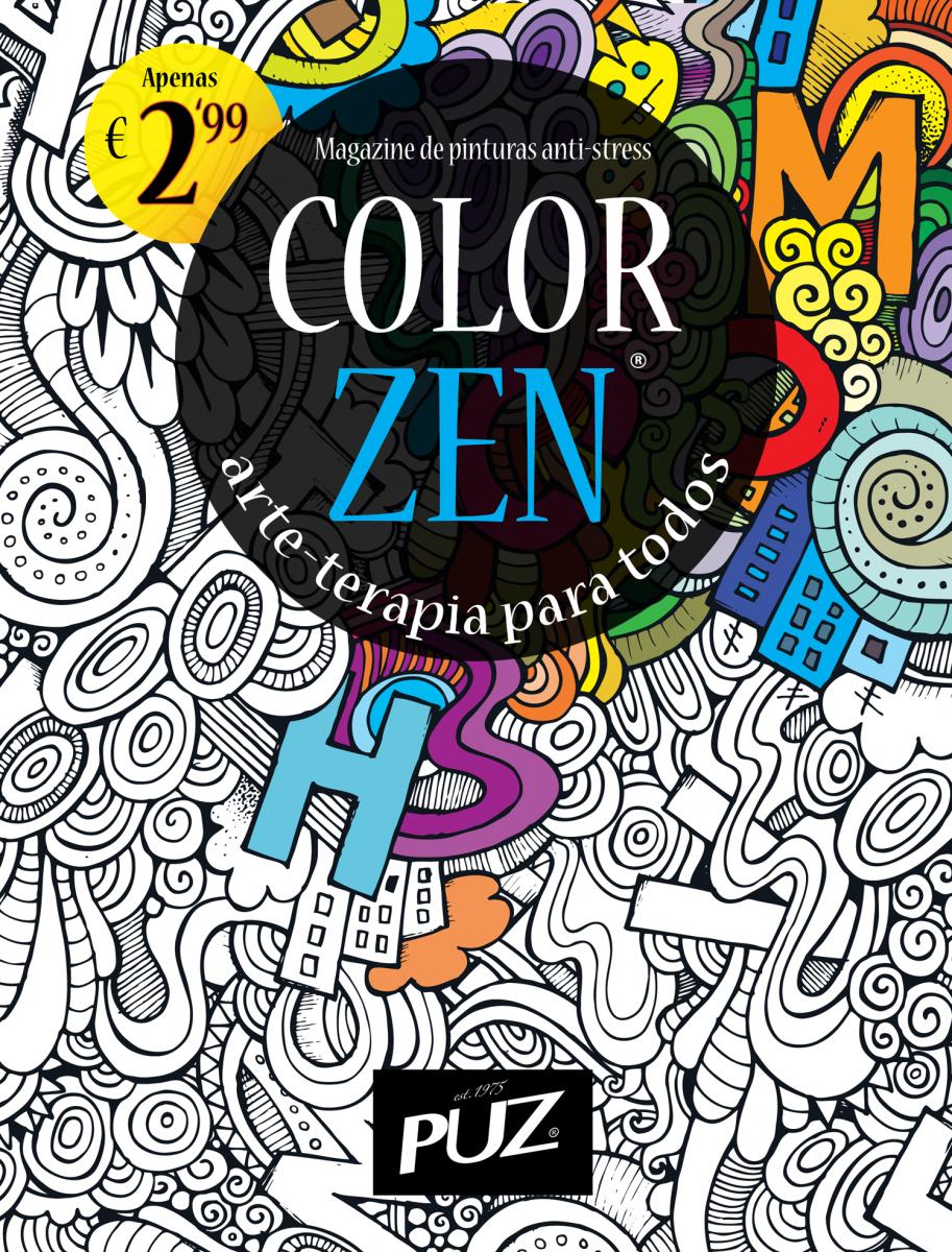 Color zen magazine - Color Zen A Revista De Colorir