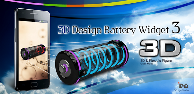 3D Design Battery Widget R3 gratis-Torrejoncillo