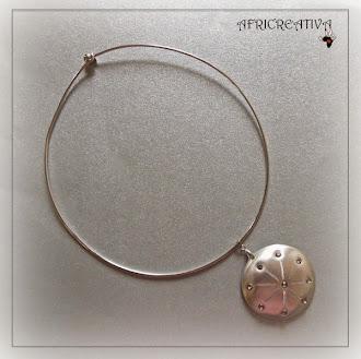 Collana argento con swarovski