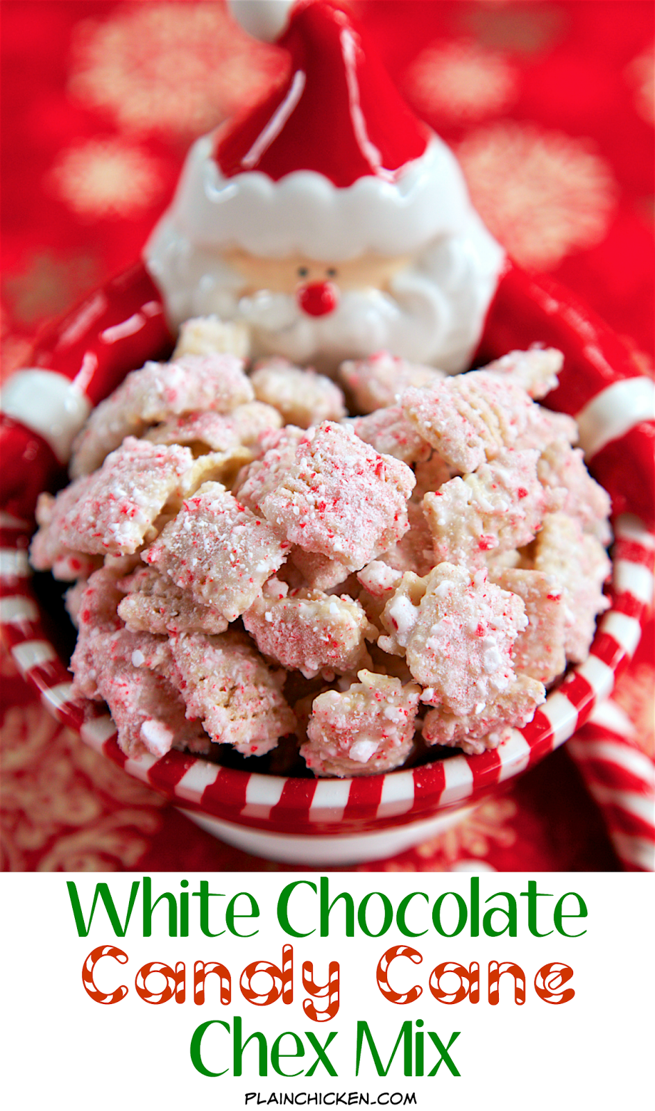 Peppermint Chocolate Chex Mix