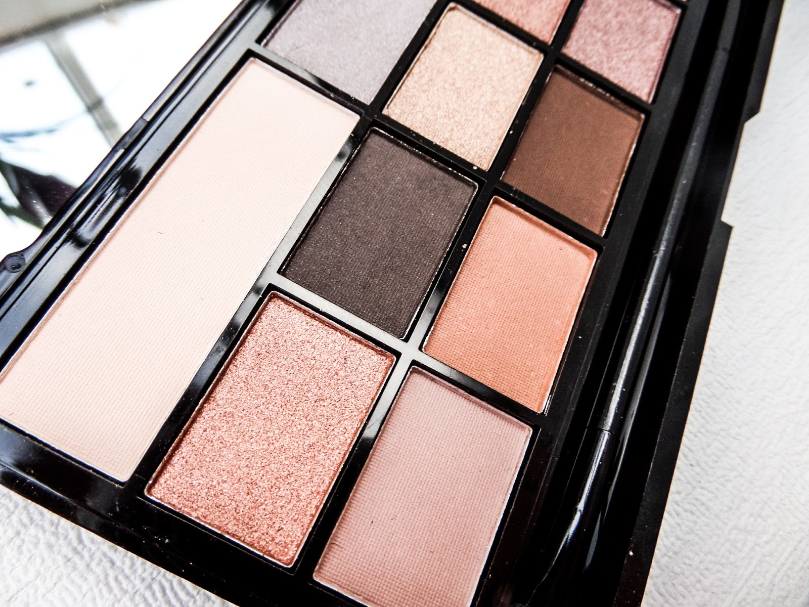 The Makeup Revolution I ♡ Makeup Naked Underneath Palette Review