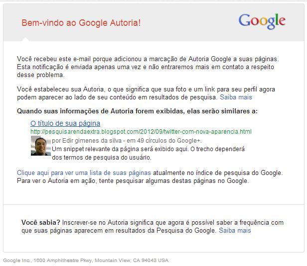 Google te dá asas para cortar depois. 6