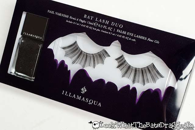 Illamasqua Swarm radium nail polish swatch bat lash duo giveaway