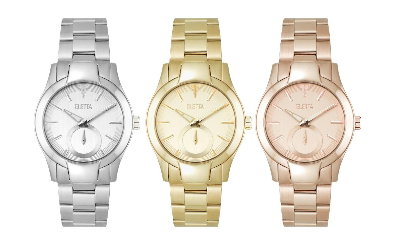 a98e0000693 Estação Cronográfica  Chegado(s) ao mercado - relógios Eletta Glam