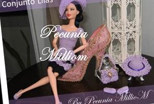 Barbie Conjunto Lilás por Pecunia MM