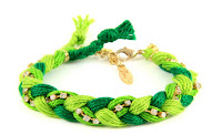 colorful friendship bracelets,