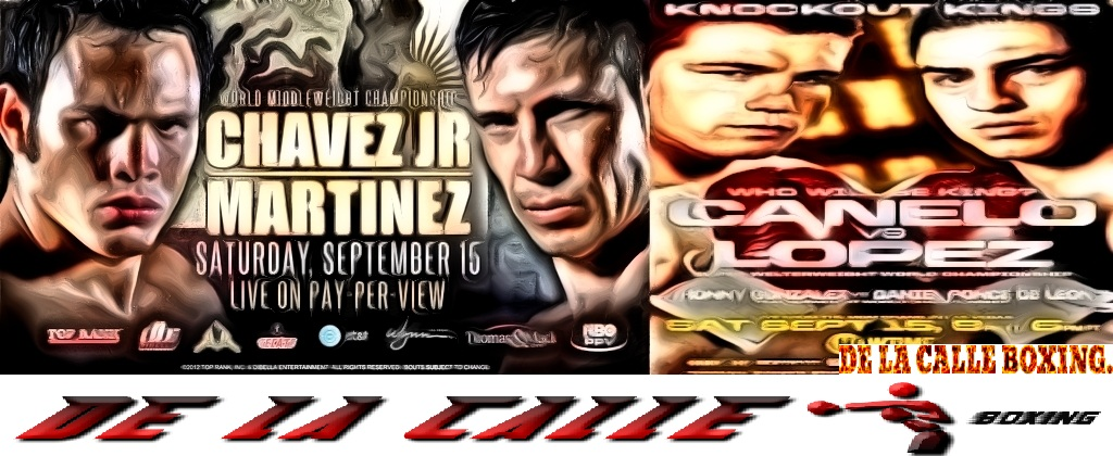 Chavez vs martinez Canelo vs Lopez para ver en vivo links aqui: