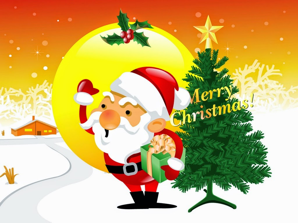 Merry-Christmas-texted-Christmas-cartoon-image-with-Santa-Claus-looking-out-1024x768.jpg