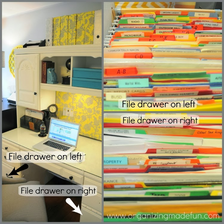 31 days of spontaneous organizing - day #28: office/desk drawer
