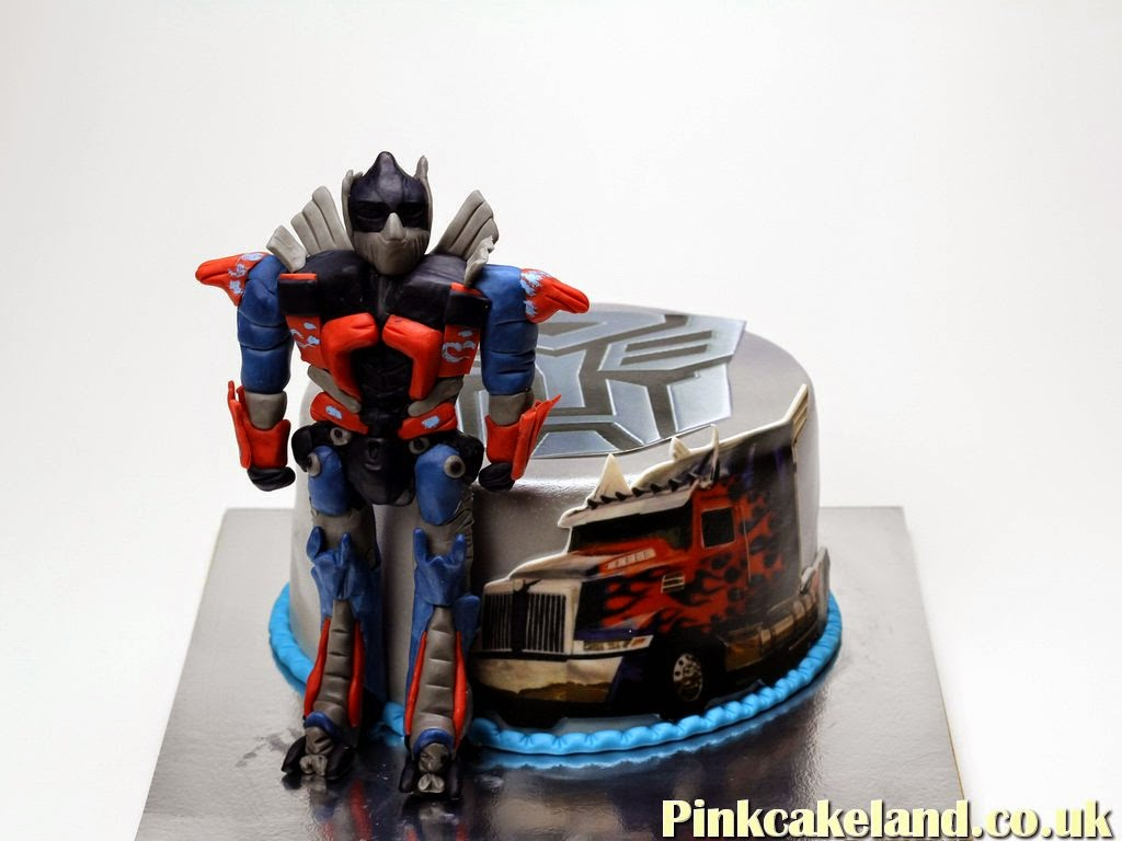Transformers Optimus Prime Birthday Cake, Brentford London