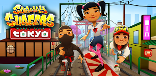 Android Games - Subway Surfers 1.10.0 MOD APK