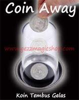 gezzmagicshop.com,gimmick sulap koin yang killer, trik sulap koin, coin magic, sulap koin ilusi, koin tembus gelas, alat sulap killer, coin away