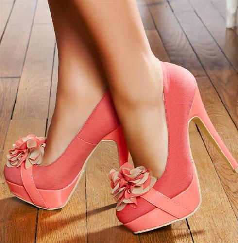 Yeni Moda Bayan Topuklu Ayakkabılar