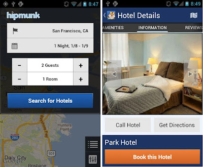 Free Hipmunk App for Android