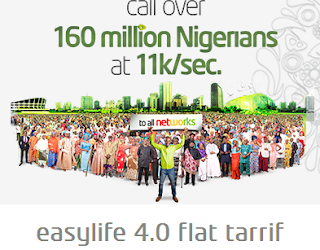 Welcome to Etisalat Easy Life 4.0? Cheapest Tarrif Plan