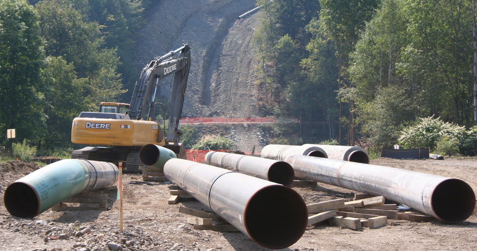 Pipeline proliferation protests
