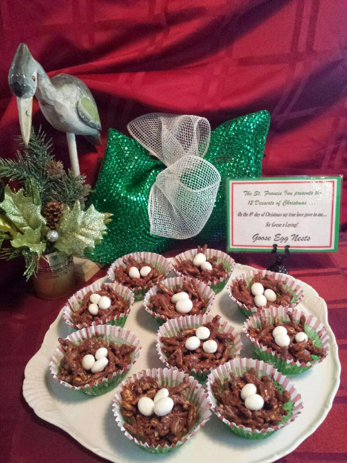 12 Desserts of Christmas!  Six Geese a-Laying! 3  6%2Bgeese%2Balaying St. Francis Inn St. Augustine Bed and Breakfast
