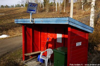 väntkur Norrbotten busskur