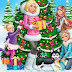 H Χριστουγεννιάτικη Barbie με το σκυλάκι...
