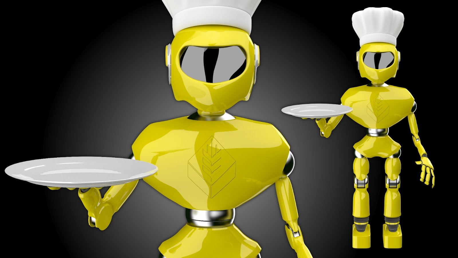 Pin robot chef facebook covers myfbcovers on pinterest - Superchef cook mix ...