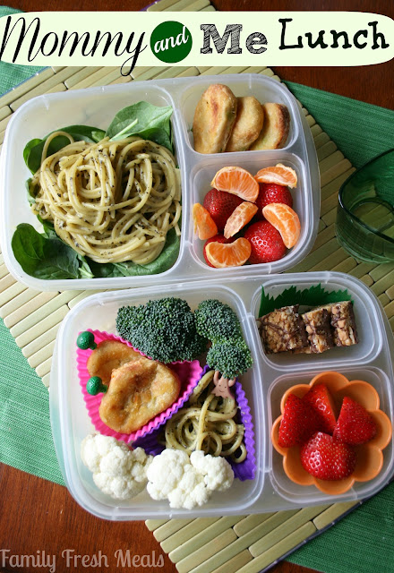 Save time by making a lunch for YOU and the kiddos at the same time.