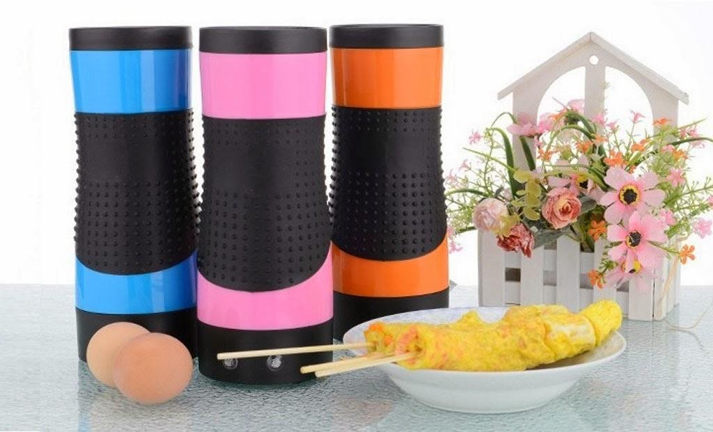 pancake roll ai frutti di bosco con eggmaster