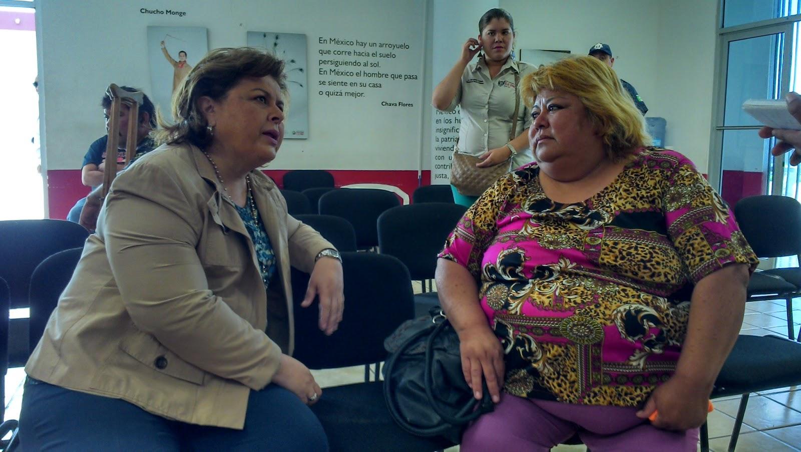 Semanario el independiente recorre esthela ponce beltr n for Oficinas del ayuntamiento