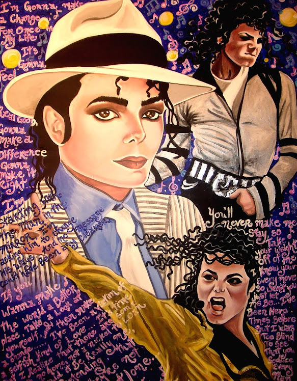 Michael Jackson Tribute Painting