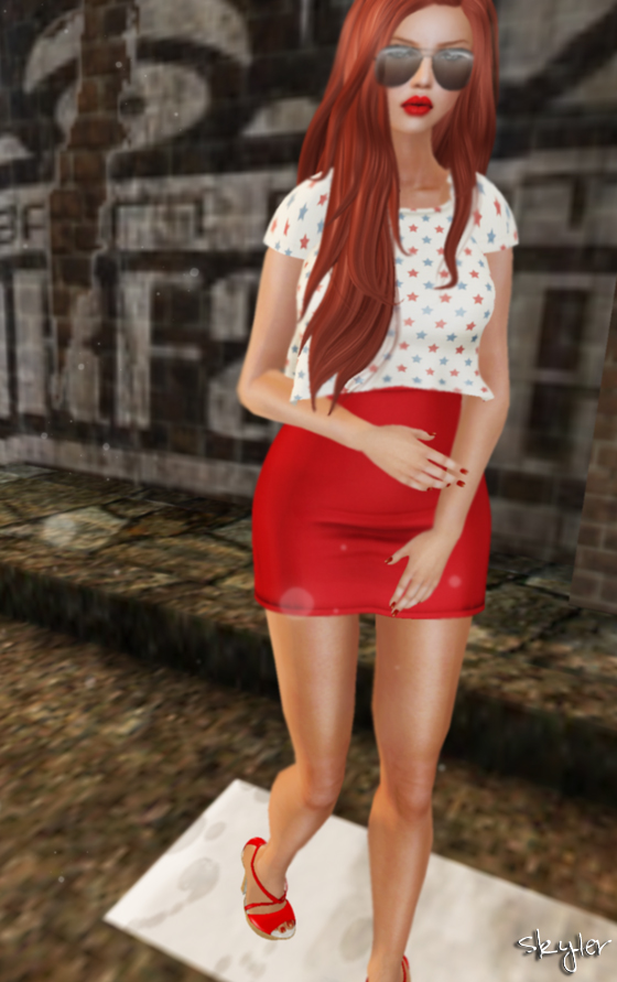 Second Life Outfit of the Day: Last Chance for Some Red Hot Summer Hunts!