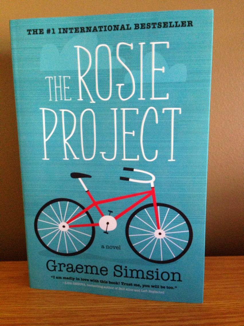 Next Up, Is The Rosie Project By Graeme Simsion This Is An Adult Fiction  Book I Believe And It Was Fairly Enjoyable This Story Follows Don Tillman